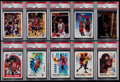 Basketball Cards:Lots, 1989-97 Multi-Brand Basketball Michael Jordan Collection (10) - AllPSA Graded!. ...