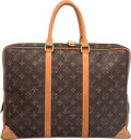 "Luxury Accessories:Bags, Louis Vuitton Classic Monogram Canvas Porte-Documents VoyageBriefcase Bag. Very Good Condition. 16"" Width x 12"" Height x..."