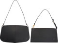 "Luxury Accessories:Bags, Louis Vuitton Set of Two; Black Epi Leather Bags. ExcellentCondition. 10"" Width x 7"" Height x 2"" Depth. 9.5"" Width x 5"" H...(Total: 2 )"