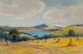 Paintings, Alfred Fontville de Bréanski (British, 1877-1955). Moel Siabod, North Wales. Oil on canvas. 16 x 24 inches (40.6 x 61.0 ...