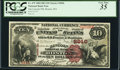 National Bank Notes:Massachusetts, Boston, MA - $10 1882 Brown Back Fr. 479 The Lincoln NB Ch. # 2846. ...