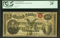 Large Size:Compound Interest Treasury Notes, Fr. 190b $10 1864 Compound Interest Treasury Note PCGS Very Fine20.. ...