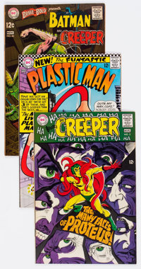 DC Silver Age Comics Group of 8 (DC, 1960s) Condition: Average FN.... (Total: 8 Comic Books)