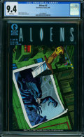 Modern Age (1980-Present):Science Fiction, Aliens #2 (Dark Horse, 1988) CGC NM 9.4 WHITE pages.