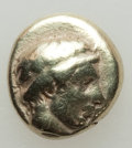 Ancients:Greek, Ancients: LESBOS. Mytilene. Ca. 454-428/7 BC. EL sixth stater/hekte(11mm, 2.46 gm).NGC Fine....