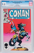 Modern Age (1980-Present):Miscellaneous, Conan the Barbarian #189 (Marvel, 1986) CGC NM/MT 9.8 White pages....