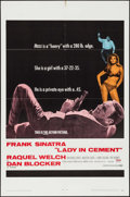 "Movie Posters:Crime, Lady in Cement (20th Century Fox, 1968). One Sheet (27"" X 41"")& Photos (7). Crime.. ... (Total: 8 Items)"