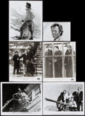 "Movie Posters:Action, Clint Eastwood Lot (Various, 1980). Photos (6) (Approx. 8"" X 10"")& Trimmed Photo (4.5"" X 6.5""). Action.. ... (Total: 6 Items)"