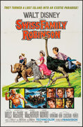 "Movie Posters:Adventure, Swiss Family Robinson (Buena Vista, R-1969). One Sheet (27"" X 41"")& Lobby Card Set of 8 (11"" X 14""). Adventure.. ... (Total: 9Items)"