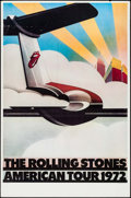 "Movie Posters:Rock and Roll, The Rolling Stones American Tour 1972 (Sunday Promotions, 1972).One Sheet (25"" X 38""). Rock and Roll.. ..."