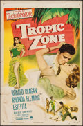 "Movie Posters:Drama, Tropic Zone (Paramount, 1953). One Sheet (27"" X 41""). Drama.. ..."