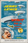 "Movie Posters:Comedy, Visit to a Small Planet (Paramount, 1960). One Sheet (27"" X 41"").Comedy.. ..."