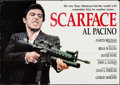 "Movie Posters:Crime, Scarface (Posters Unici, 1984). Commercial Italian 2 - Fogli (37.75"" X 53.5""). Crime.. ..."