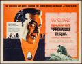 "Movie Posters:Horror, The Premature Burial (American International, 1962). Half Sheet(22"" X 28""). Horror.. ..."
