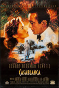 "Movie Posters:Academy Award Winners, Casablanca (MGM/UA, R-1992). 50th Anniversary Video One Sheet (27""X 40"") SS. Academy Award Winners.. ..."