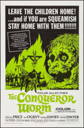 "Movie Posters:Horror, The Conqueror Worm (American International, 1968). One Sheet (27"" X41"") & Lobby Card Set of 8 (11"" X 14). Horror.. ... (Total: 9Items)"