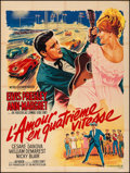 "Movie Posters:Elvis Presley, Viva Las Vegas (MGM, 1964). French Grande (47"" X 62.5""). Elvis Presley.. ..."