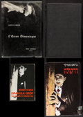 "Movie Posters:Horror, The Haunted Screen & Others Lot by Lotte H. Eisner (Le TerrainVague, 1965). French Hardcover Book (288 Pages, 6.5"" X 9""), I...(Total: 4 Items)"