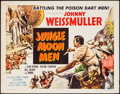 "Movie Posters:Science Fiction, Jungle Moon Men (Columbia, 1955). Half Sheet (22"" X 28""). ScienceFiction.. ..."