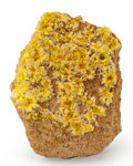 Minerals:Small Cabinet, Weeksite. Jackpile Mine (Jackpile-Paguate). Laguna District. Cibola Co.. New Mexico, USA. 2.56 x 1.95 x 1.59 inches (6.51 ...