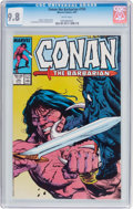 Modern Age (1980-Present):Miscellaneous, Conan the Barbarian #193 (Marvel, 1987) CGC NM/MT 9.8 White pages....