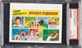 Baseball Cards:Singles (1970-Now), 1973 Topps Test Comics Brooks Robinson PSA EX-MT+ 6.5....