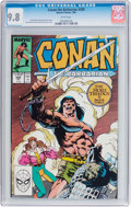 Modern Age (1980-Present):Miscellaneous, Conan the Barbarian #208 (Marvel, 1988) CGC NM/MT 9.8 White pages....