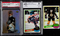 Hockey Cards:Lots, 1980-2005 Topps/U.D. McDonald's Bourque, Crosby and Gretzky Trio(3)....