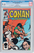 Bronze Age (1970-1979):Adventure, Conan the Barbarian #172 (Marvel, 1985) CGC NM/MT 9.8 White pages....