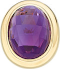 Estate Jewelry:Rings, Amethyst, Gold Ring . ...