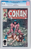 Modern Age (1980-Present):Miscellaneous, Conan the Barbarian #187 (Marvel, 1986) CGC NM/MT 9.8 White pages....