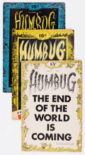 Silver Age (1956-1969):Alternative/Underground, Humbug Group of 7 Bill Elder File Copies (Humbug, 1957-58)Condition: Average VG/FN.... (Total: 7 Comic Books)