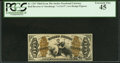 Fractional Currency:Third Issue, Fr. 1347 50¢ Third Issue Justice PCGS Extremely Fine 45.. ...