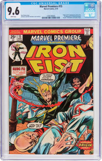 Marvel Premiere #15 Iron Fist (Marvel, 1974) CGC NM+ 9.6 White pages