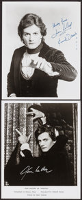 """Movie Posters:Miscellaneous, Jean LeClerc in Dracula (1978). Autographed Photos (2) (8"""" X 10"""").Miscellaneous.. ... (Total: 2 Items)"""