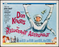 "Movie Posters:Comedy, The Reluctant Astronaut (Universal, 1967). Half Sheet (22"" X 28"").Comedy.. ..."