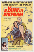 "Movie Posters:War, A Yank in Viet-Nam (Allied Artists, 1964). One Sheet (27"" X 41"")& Lobby Card Set of 8 (11"" X 14""). War.. ... (Total: 9 Items)"