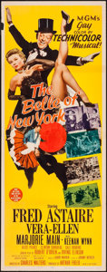 """Movie Posters:Musical, The Belle of New York (MGM, 1952). Insert (14"""" X 36""""). Musical....."""