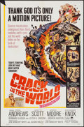 "Movie Posters:Science Fiction, Crack in the World (Paramount, 1965). One Sheet (27"" X 41"").Science Fiction.. ..."