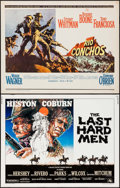 "Movie Posters:Western, The Last Hard Men & Others Lot (20th Century Fox, 1976). Half Sheets (4) (22"" X 28""). Western.. ... (Total: 4 Items)"