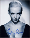 "Movie Posters:Miscellaneous, Barbara Steele (1980s). Autographed Restrike Photo (8"" X 10"").Miscellaneous.. ..."