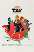 """Movie Posters:Thriller, Modesty Blaise (20th Century Fox, 1966). One Sheet (27"""" X 41"""") & Uncut Pressbook (22 Pages, 8.5"""" X 13.75""""). Thriller.. ... (Total: 2 Items)"""