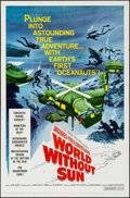 "Movie Posters:Documentary, World without Sun (Columbia, 1964). One Sheet (27"" X 41"").Documentary.. ..."