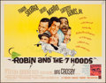 "Movie Posters:Comedy, Robin and the 7 Hoods (Warner Brothers, 1964). Half Sheet (22"" X28""). Comedy.. ..."