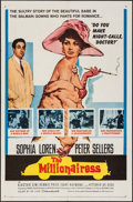 """Movie Posters:Comedy, The Millionairess (20th Century Fox, 1960). One Sheet (27"""" X 41"""")& Title Lobby Card (11"""" X 14). Comedy.. ... (Total: 2 Items)"""