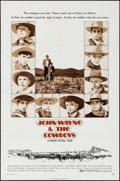 "Movie Posters:Western, The Cowboys (Warner Brothers, 1972). One Sheet (27"" X 41"").Western.. ..."