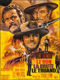 "Movie Posters:Western, The Good, the Bad and the Ugly (United Artists, R-1970s). FrenchGrande (46"" X 61.25""). Western.. ..."