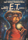 "Movie Posters:Science Fiction, E.T. The Extra-Terrestrial (Universal, 1984). Polish One Sheet (26""X 38""). Science Fiction.. ..."