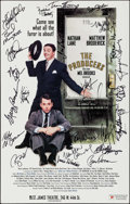 "Movie Posters:Comedy, The Producers (St. James Theatre, 2001). Autographed TheatricalWindow Card (14"" X 22""). Comedy.. ..."