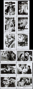 "Movie Posters:Science Fiction, Back to the Future (Universal, 1985). Presskit (9"" X 12"") &Photos (12) (8"" X 10""). Science Fiction.. ..."